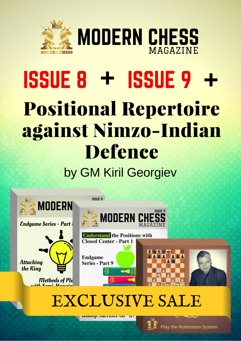 Positional Repertoire against Nimzo-Indian Defence + Modern Chess Issue 8 + Modern Chess Issue 9
