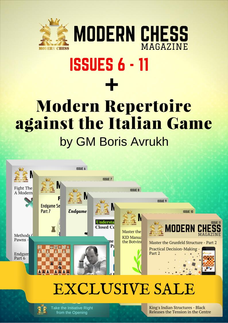 Modern Repertoire against the Italian Game + Modern Chess Magazine (Issues 6-11)