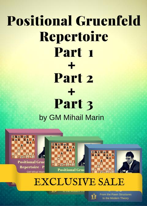Positional Gruenfeld Repertoire - Part 1 + Part 2 + Part 3