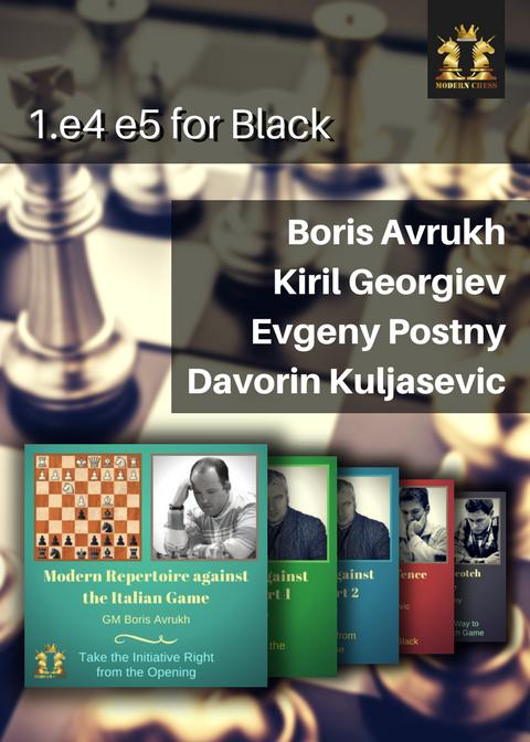 1.e4 e5 for Black