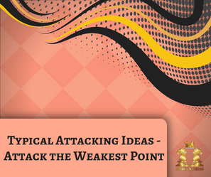 Typical Attacking Ideas - Attack the Weakest Point