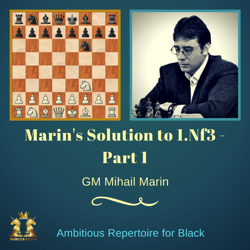 Marin's Solution to 1.Nf3