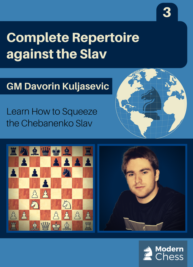 GM Repertoire against the Slav - Part 3. Squeeze the Chebanenko Slav