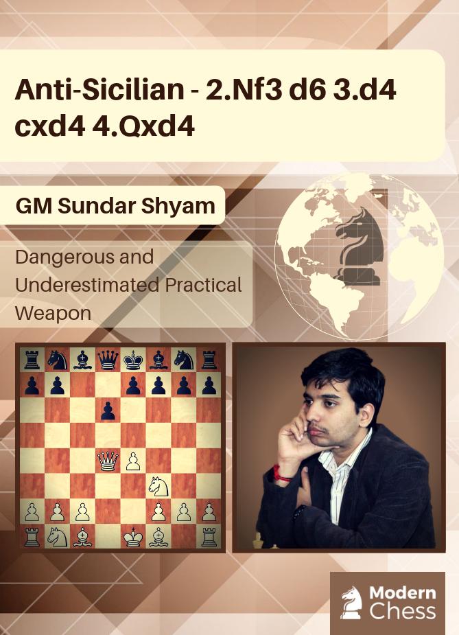 Anti-Sicilian - 2.Nf3 d6 3.d4 cxd4 4.Qxd4