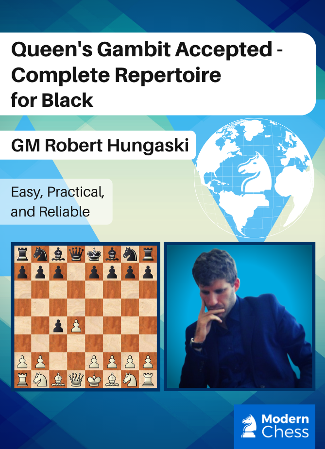 Queen's Gambit Accepted - Complete Repertoire for Black