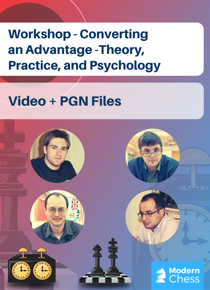 Workshop - Converting an Advantage - Theory, Practice, and Psychology