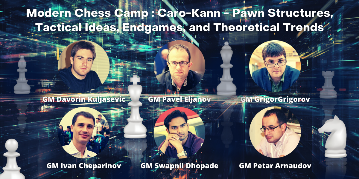 November Workshop - Caro-Kann Defence - Pawn Structures, Tactical Ideas, Endgames, and Theoretical Trends