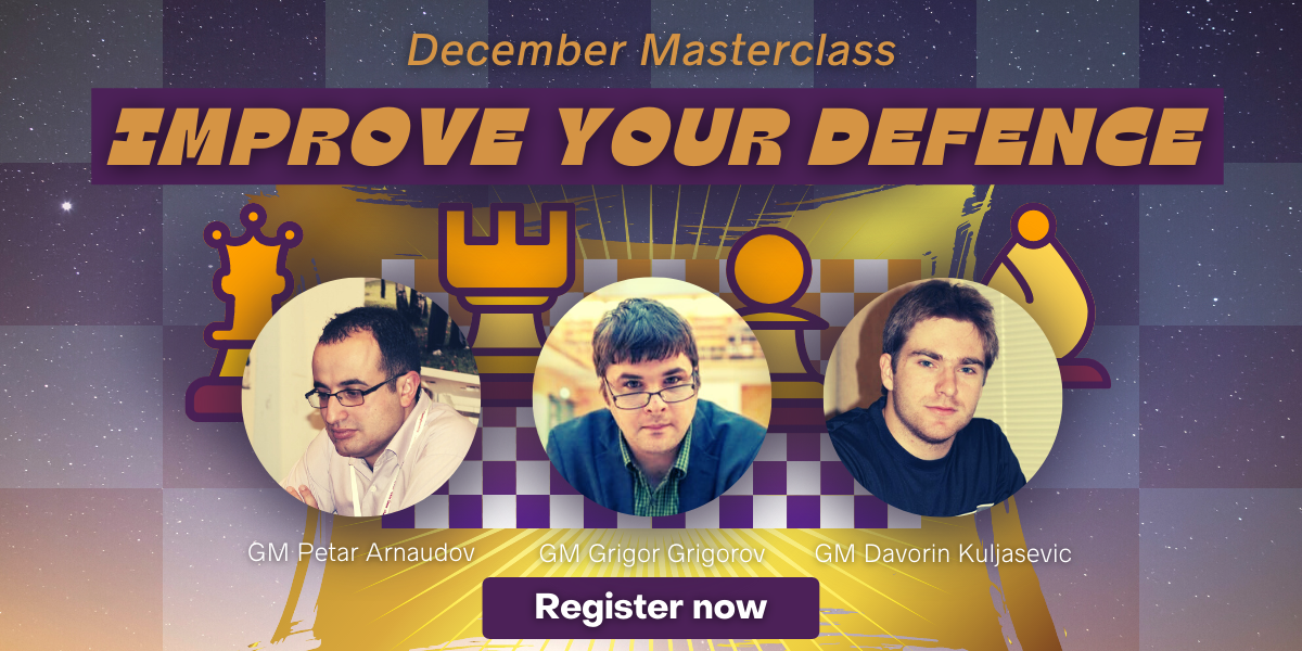 December Masterclass - Improve Your Defence