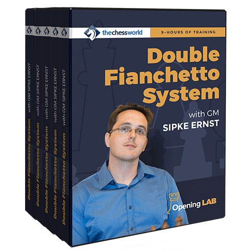Double Fianchetto System with GM Sipke Ernst (Video Database - 9 hours running time)