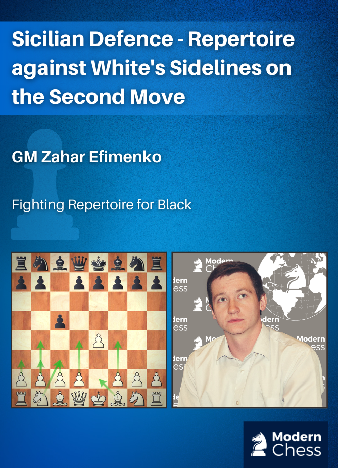 Sicilian Defence - Repertoire against White's Sidelines on the Second Move