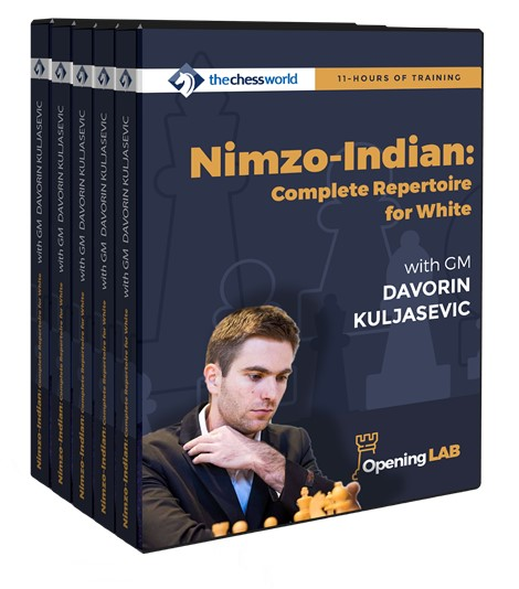 Nimzo-Indian Complete Repertoire for White with GM Davorin Kuljasevic (Video Database - 11 hours running time)