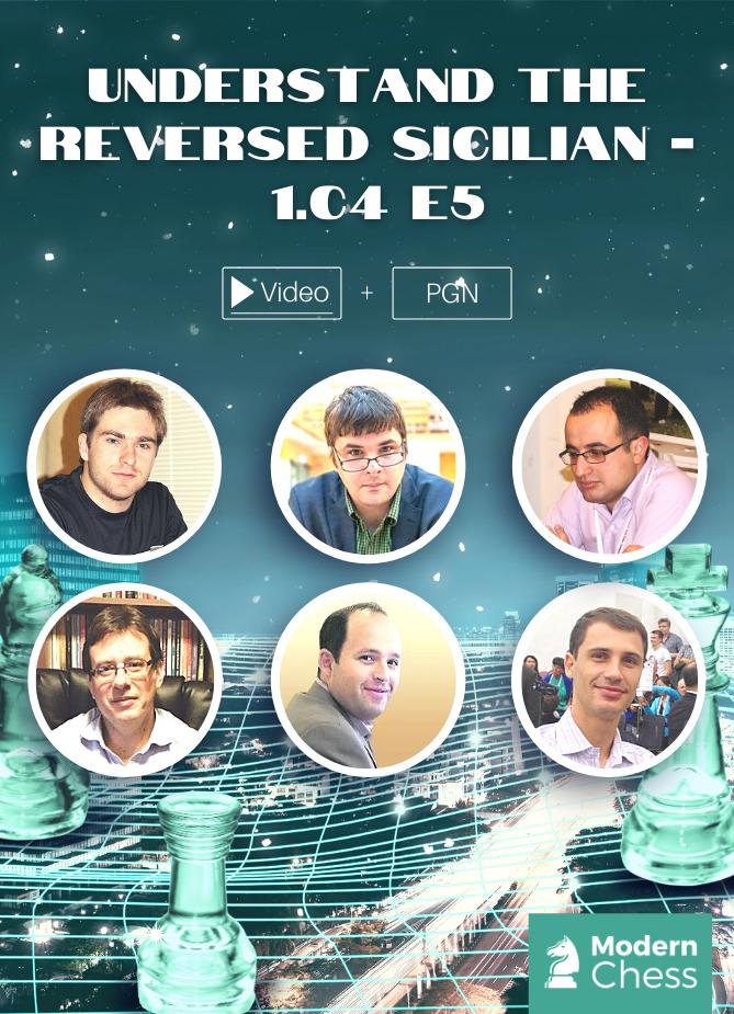 Understand the Reversed Sicilian - 1.c4 e5