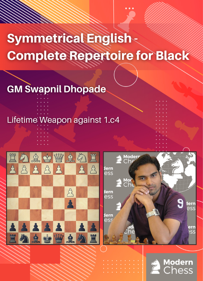 Symmetrical English - Complete Repertoire for Black (6 hours video running time)